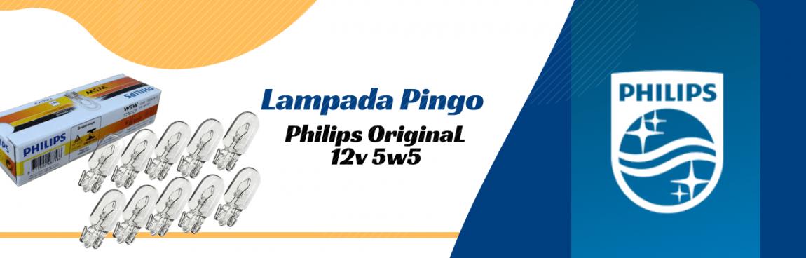 LAMPADA DA LANTERNA PINGUINHO 5X5 12V PHILIPS