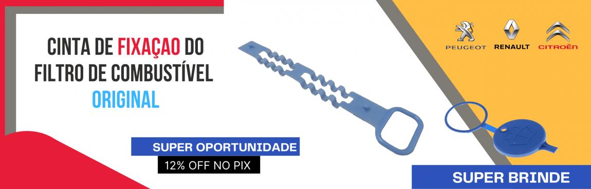 CINTA DE FIXAÇÃO PRESILHA DO FILTRO DE COMBUSTIVEL PEUGEOT CITROEN RENAULT