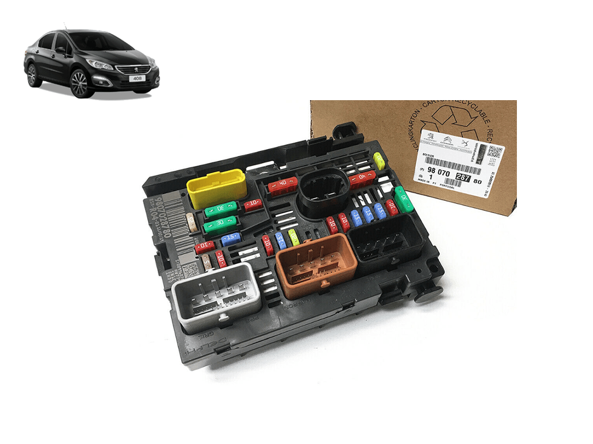 9807028780 - Modulo BSM Original - R04 - L11 ( Peugeot 408 )