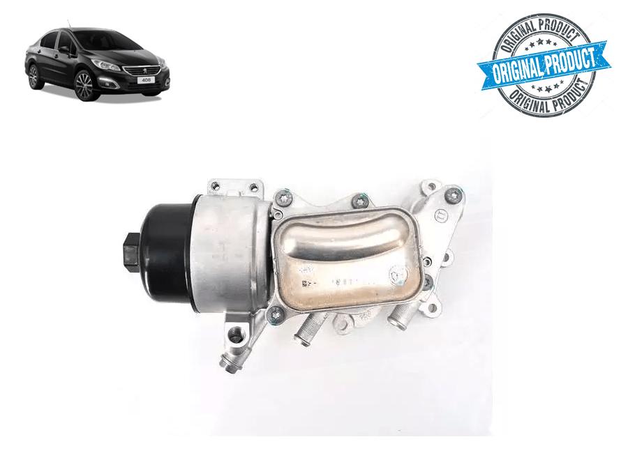 V864374580 - Trocador de Calor Suporte Filtro de Óleo Original THP ( Peugeot 408 )