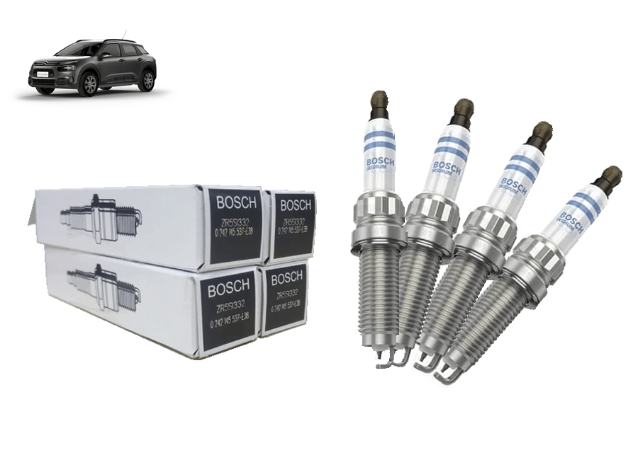 9808465980 - Vela de ignição Bosch Iridium THP Flex Original ( Citroen C4 Cactus )