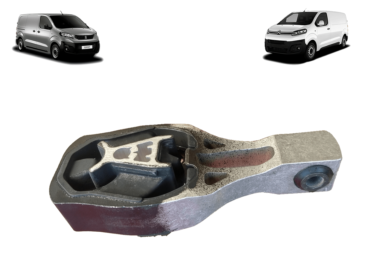 9811786680 - Coxim Central Inferior do Motor ( Citroen Jumpy Peugeot Expert )