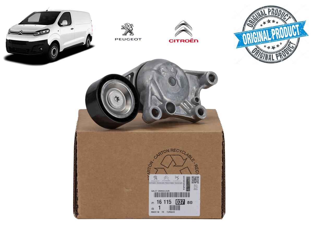1611503780 - Tensor Rolamento da Correia do Alternador 1.6 Turbo ( Citroen Jumpy )