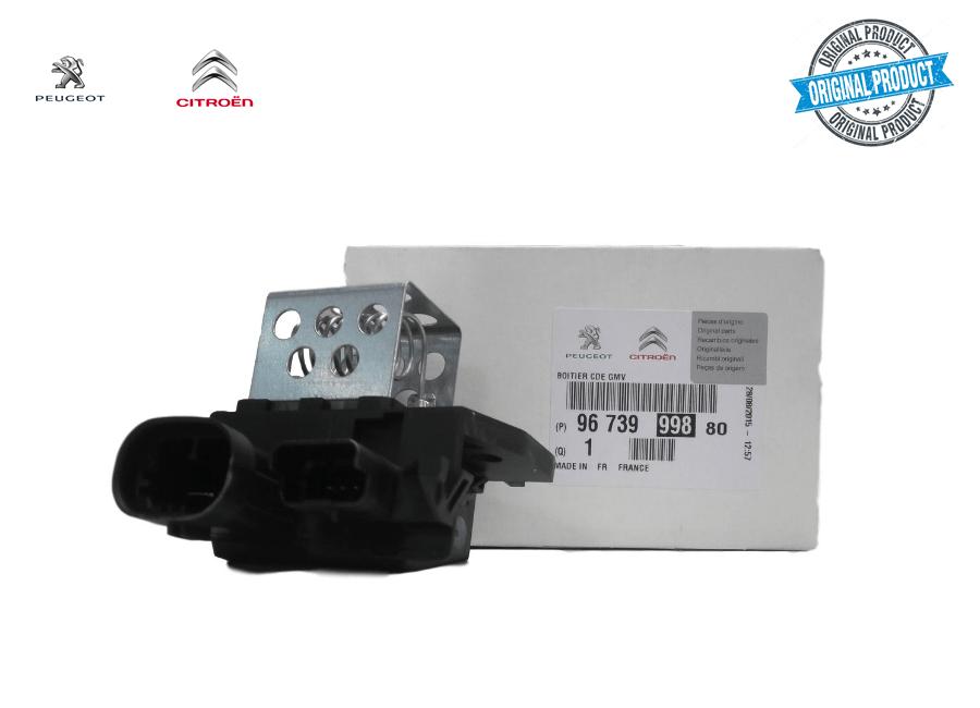 9673999880 - Resistência do Motoventilador Original ( Peugeot e Citroen )