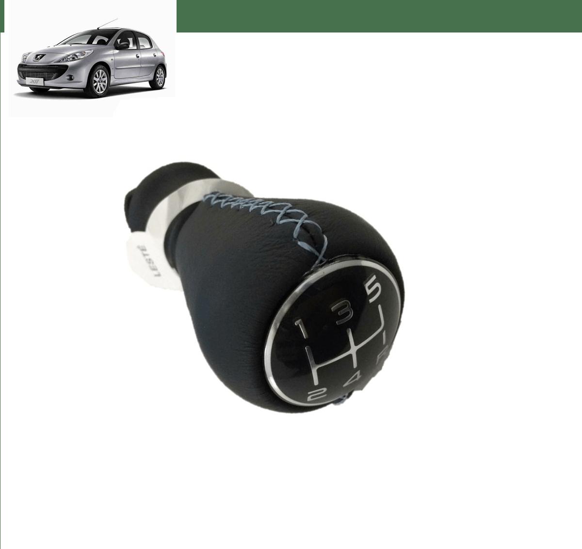 2403P4  - Bola Manopla Do Cambio Original ( Peugeot 207 )