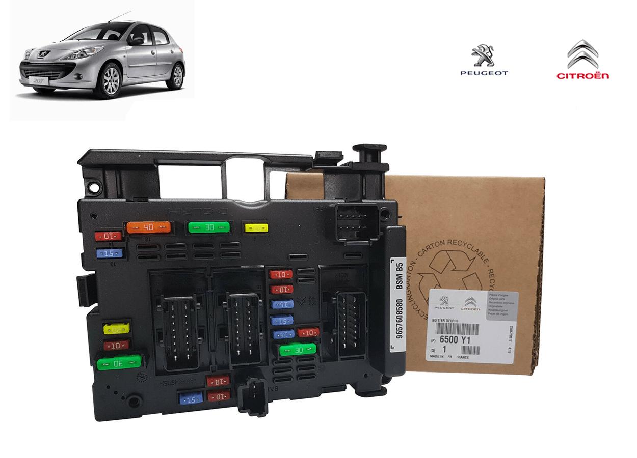 6500Y1 - Modulo Caixa Bsm B3 B5 Original ( Peugeot 207 )