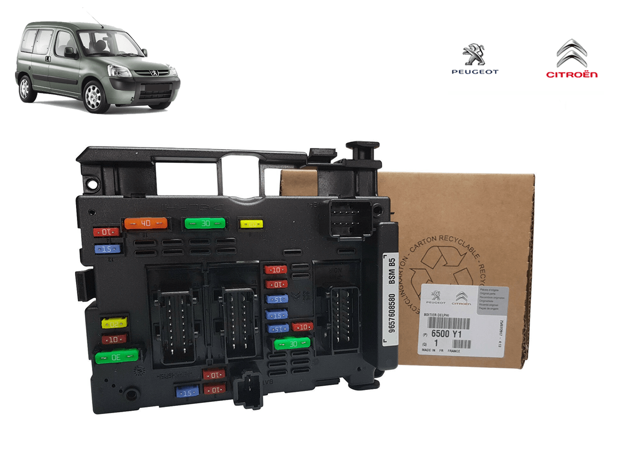 6500Y1 - Modulo Caixa Bsm B3 B5 Original ( Peugeot Partner )