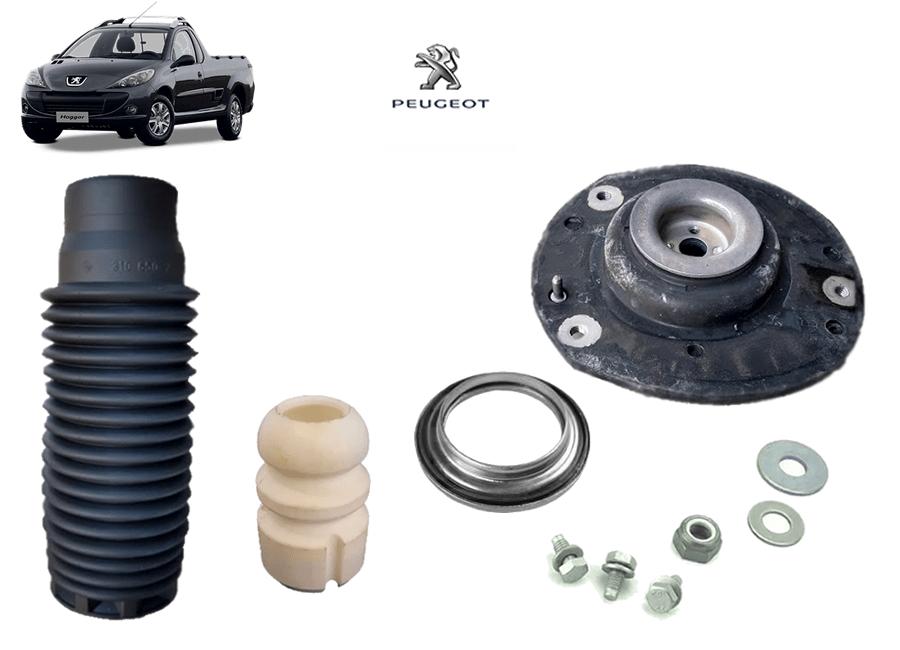 Kit Batente Completo Coxim do Amortecedor Dianteiro Original ( Peugeot Hoggar )