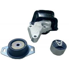 1839H6-184468-180944 Kit Coxim Hidráulico Calço / Motor / Inferior / Câmbio / (CITROEN C4 Hatch 2.0 16V)