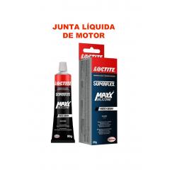 Junta Liquida Alta Temperatura silicone Loctite Super Flex 80g P/ motores