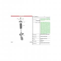 9678782580 / 9831145480 / 9800479780 - Kit Batente Completo Amortecedor Dianteiro C4 Novo 2019  Original