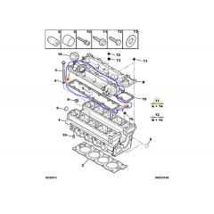 0248G0 - Tampa de Valvula Admissão Original 1.8 16v ( Citroen Xsara /  Peugeot 306 )