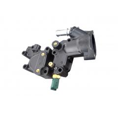 1336Y8 - Caixa carcaça da Valvula Termostatica C/ Sensor  de Temperatura 1.4 8v Original ( Peugeot e Citroen )