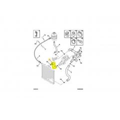 1343Z2 - Mangueira Superior do Radiador (Peugeot 206 207 XSARA PICASSO 1.4 / 1.6 ) Original