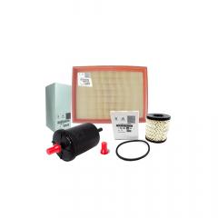 1444vx / 1567E1 / 9818914980 - Kit Filtros Ar / Oleo Combustivel Citroen C4 2.0 Original