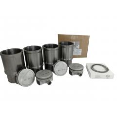 1608888380 - Kit Motor Jogo Pistões Anéis Camisas Citroen C3 1.5 8v Flex