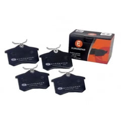 1635835180 / PW363 / PD362 - Pastilha Freio Traseiro Peugeot 307 308 408 1.6 / 2.0 16v