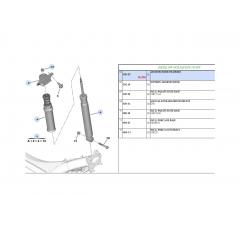 514248 - Coxim Batente do Amortecedor Traseiro (Citroen C4 DS4 Peugeot 308 RCZ)
