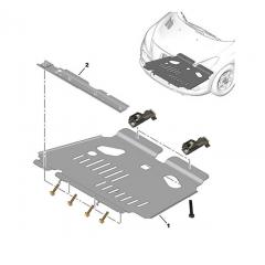 Kit Porca C/ Parafuso Do Protetor De Carter Peugeot 206 207 307 Citroen C3 C4 + BRINDE