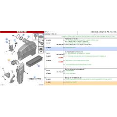 144084 - MANGUEIRA TUBO DE ENTRADA FILTRO DE AR ORIGINAL 1.4 ( Citroen C3 )