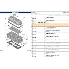 82403FLEX - Junta do Cabeçote 1.4 / 1.5 8v Original Sabo 1.4 / 1.5 8v ( Peugeot e Citroen )