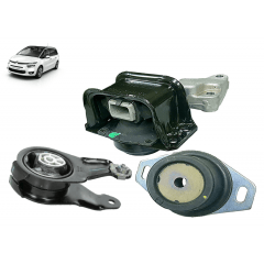 1839H6 + 184468 + 1806A0 - Kit Calco Coxim Do Motor / Central / Cambio Original ( Citroen C4 Picasso )