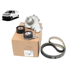 1610577780 - Kit Correia Dentada Tensor e Bomba d' água Original ( Citroen Jumpy )