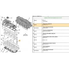 020557 - Kit Com 10 Parafusos Cabecote Expert / Jumpy ( Psa )