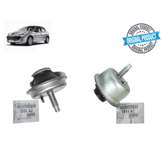 1844A1 - 1844A2 - Kit Batente Limitador do Calço Coxim Pêra Original ( Peugeot 207 )