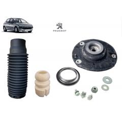 Kit Batente Completo Coxim do Amortecedor Dianteiro Original ( Peugeot 206 )