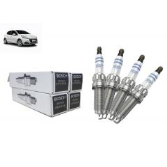 9808465980 - Vela de ignição Bosch Iridium THP Flex Original ( Peugeot 208 )