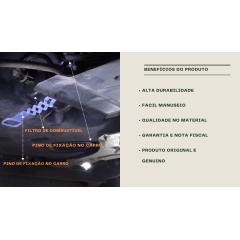 CINTA SUPORTE FILTRO COMBUSTIVEL RENAULT LOGAN /SANDERO/ MEGANE /PEUGEOT 307 308 407 / CITROEN C4 ( PAGUE 2 LEVE 3 )