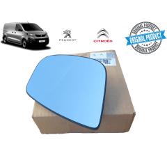 1616869280 - Vidro Lente Do retrovisor Lado Direito Original ( Peugeot Expert )